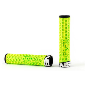 NS Bikes Hold Fast Grips Unlocked, lemon lime